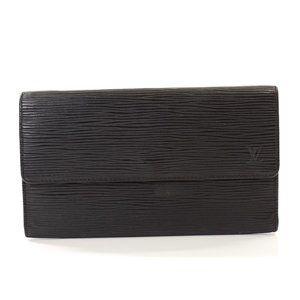 Auth Louis Vuitton Porte Tresor Trifold #7282X86